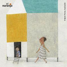 "Quim Torres. ""La noche más noche"". Editorial El Narano Illustration, Editorial, Painting, Art, Towers, Night, Backgrounds, Craft Art, Painting Art"