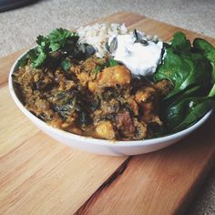 Simple Wholesome Goodness: Sweet Potato Saag Aloo