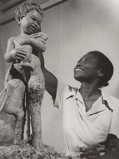 zzzze:Hansel Mieth, Augusta Savage (sculptor), 1938