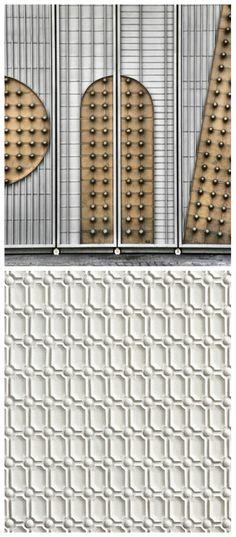 Top: Prague, Czech Republic. Bottom: Walker Zanger Tilt collection in Regency Mosaic. #ItsAllintheDetails
