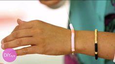 How to Make DIY Sequined-String Bracelets - Martha Stewart