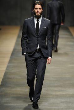 Hermes Men's RTW 2012 Fall. Class. All black everything