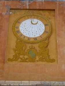 Cadran solaire à Briançon.