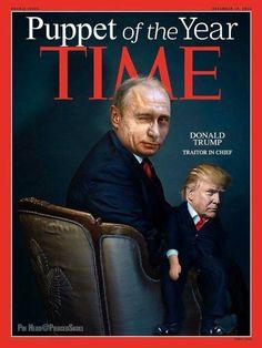 Putin with Drumpf