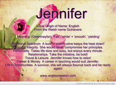 Jennifer Name Tag