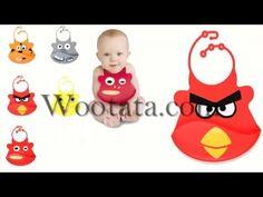 Celemek Makan Bayi Lucu Silicone Baby Bips