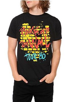 PINK FLOYD THE WALL TOUR '80 T-SHIRT