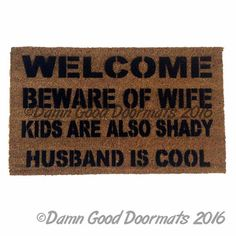 Beware of WIFE, KIDS and PETS are also shady-HUSBAND IS COOL™ THIS LISTING IS…