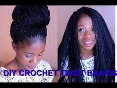 DIY: Crochet Braids Twist/Step By Step - Freedom Styles
