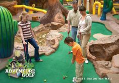 Professor Wem's Adventure Golf  The cartoonish caricatures and colourful atmosphere make this challenging 18-hole miniature golf course fun for kids of all ages and a family favourite.