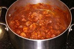 Guiso de Puerco con Chile Rojo        ~ Red Chile Pork Stew