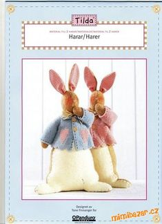 Tilda's Rabbit in Coat - pattern