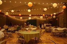 AMAZING cultural hall turned pinterest vintage reception