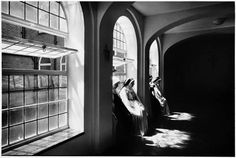 The Cloister of the Monastery: Anne Noble Auckland Art Gallery, Artistic Photography, Photography Composition, Dramatic Lighting, The Cloisters, Contemporary Photographers, Documentary Photography, New Zealand, Documentaries