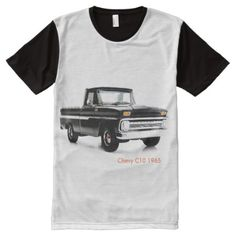 Classic car Men's-All-Over-Printed-Panel T-Shirt - click/tap to personalize and buy Shirt Outfit, T Shirt, Custom Wheels, Drag Racing, Funny Tshirts, Chevy, Classic Cars, Prints, Mens Tops