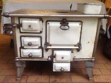 Antike Kochmaschine Küchenhexe von Juno Stangenofen Holzofen Küchenherd