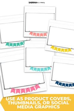 This set is perfect for Teachers Pay Teachers sellers who sell digital resources. Create the perfect graphic for Instagram, Facebook, Teacher Pay Teachers, your blog, and so much more!