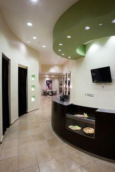 Haim Salon at the Park Hyatt Aviara@Carlsbad, CA #SalonToday #Salon Interior #Reception Desk