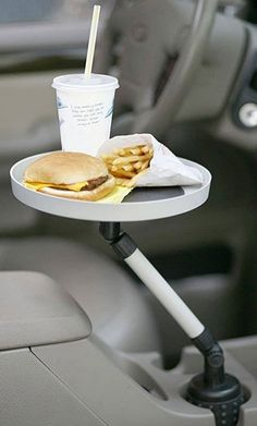 White swivel car tray! #product_design