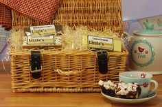 New Hamper ideas are in full flow here at Lizzie's - exciting times :)