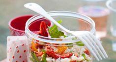 Salade de riz à l'italienneVoir la recette de la Salade de riz à l'italienne >>