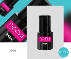 Lakier hybrydowy BAZA NEESS, dzięki  ultra formule zapewnia doskonałą przyczepność produktu do paznokcia. Pojemność 8ml. Manicure, Nails, Nail Polish, Lipstick, Beauty, Pure Nail Bar, Finger Nails, Ongles, Nail