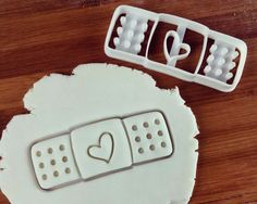Handiplast Bandaid cookie cutter biscuit cutters Gifts medical students nurses practitioners health student do no harm one of a kind | ooak