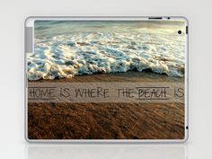 Home Is Where The Heart Is Laptop & iPad Skin by Dee Marie Design - $25.00