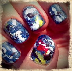 Graffiti nails  by Lacque To The Future