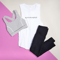 5 Fitness Graphic Tees That Send a Message Athleisure Outfits, Sporty Outfits, Athletic Outfits, Cute Outfits, Cute Lounge Outfits, Comfortable Outfits, Workout Attire, Workout Wear, Workout Tanks