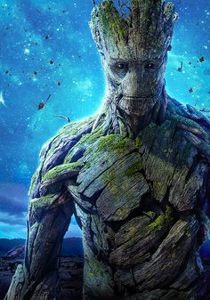 "Groot international poster for Marvel's ""Guardians of the Galaxy"" ; Groot is my favorite Marvel Comics, Films Marvel, Marvel Characters, Marvel Dc, Marvel News, Disney Marvel, Gardians Of The Galaxy, Galaxy Movie, Groot Guardians"