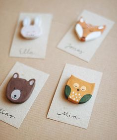 DIY Woodland Creature Favors | Oh Happy Day!Nx