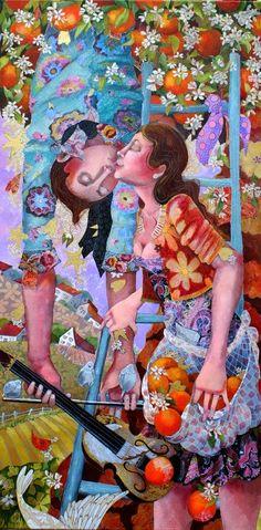 Pinzellades al món: Besos, besets, besots: il·lustracions d'enamorats / Besos, besitos, besazos: ilustraciones de enamorados / Kisses, little kisses, big kisses: Illustration of lovers