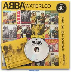 """Here is another """"Waterloo"""" CD single from my collection - this one was produced by the Official International Abba Fan Club as a souvenir of... #Abba #Agnetha #Frida http://abbafansblog.blogspot.co.uk/2015/11/waterloo-cd-single_23.html"""