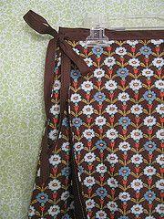 Flowered Wrap Skirt | Regina Lord of Creative Kismet