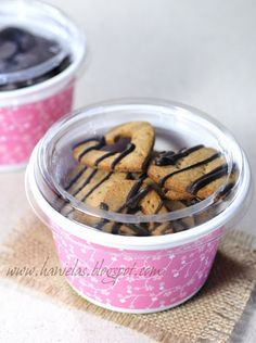 Recycle Yogurt Containers into Storage or Cookie Gift Container - Why didn't I think of that?