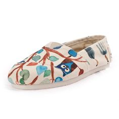2014 New Arrival Toms Shoes Graffiti style