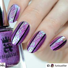 By #furiousfiler on #instagram#nails2inspire #nails #nailart #naildesigns