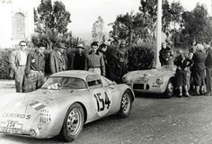 Porsche 550-001 Carrera Panamericana 1953