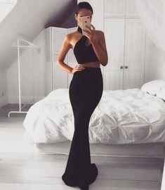 Imagen de black, dress, and fashion