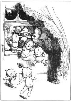 Forgotten Illustrations: kewpie dolls