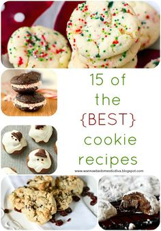 Diary of a {Wannabe} Domestic Diva: 15 of the best cookie recipes for your cookie exchange
