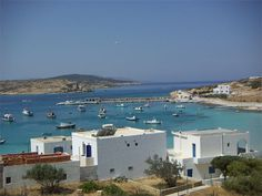 Koufonissi - a small island in the Cyclades.