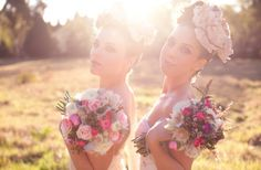 Dreamy Wedding Hair and Makeup | OneWed