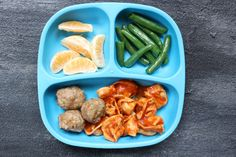 Turkey Pesto Meatballs are made with just four ingredients and make the perfect healthy protein for meatball subs or served with marinara and whole grain pasta for a simple weeknight meal. Family Meal Planning, Family Meals, Kids Meals, Healthy Toddler Meals, Toddler Lunches, Toddler Dinners, Toddler Food, Baby Food Recipes, Snack Recipes