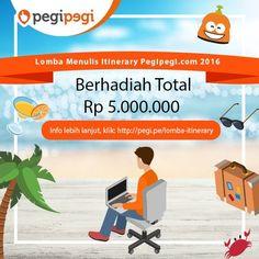 Lomba Menulis Itinerary pegipegi.com 2016
