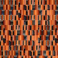Padrões abstratos de Manuel Mira Godinho ~Fachada.