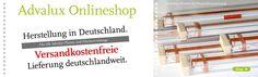 Plisseerollo, Advalux Online-Shop, Plisseerollo günstig mit Klebeträger, Plissee montage