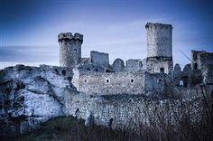 castelo de Ogrodzieniec Ogrodzieniec Castle Poland