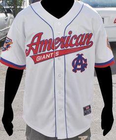 Chicago American Giants - baseball jersey
